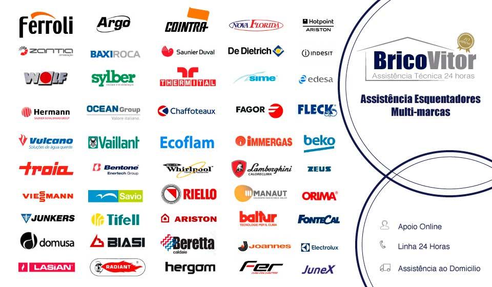 Assistência Reparação esquentadores multi-marcas